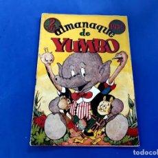 Tebeos: ALMANAQUE YUMBO PARA 1945 HISPANO AMERICANA ORIGINAL -BUEN ESTADO. Lote 218171766