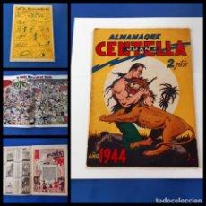 Tebeos: ALMANAQUE JUAN CENTELLA 1944 - EDITORIAL HISPANO AMERICANA-ORIGINAL. Lote 218178162