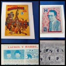 Tebeos: ALMANAQUE AVENTURERO 1938 -ORIGINAL-H.AMERICANA-EXCELENTE ESTADO. Lote 218180788
