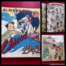 Tebeos: CHICOS ALMANAQUE PARA 1942 EDITA CONSUELO GIL. Lote 218499102