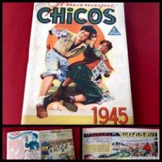 Tebeos: CHICOS ALMANAQUE PARA 1945 EDITA CONSUELO GIL. Lote 218500821
