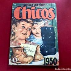 Tebeos: CHICOS ALMANAQUE PARA 1950 EDITA CONSUELO GIL. Lote 218504180