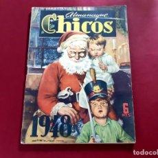 Tebeos: CHICOS ALMANAQUE PARA 1948 EDITA CONSUELO GIL. Lote 218504748
