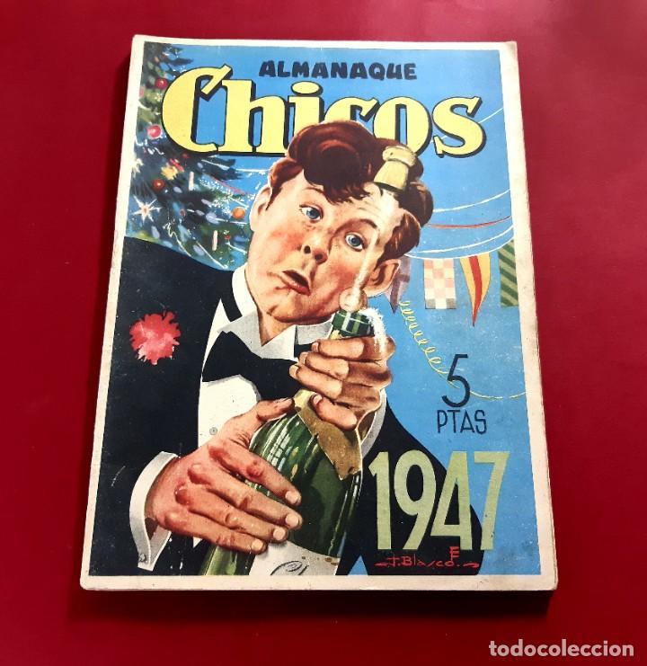CHICOS ALMANAQUE PARA 1947 EDITA CONSUELO GIL (Tebeos y Comics - Tebeos Almanaques)