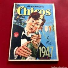 Tebeos: CHICOS ALMANAQUE PARA 1947 EDITA CONSUELO GIL. Lote 218505261