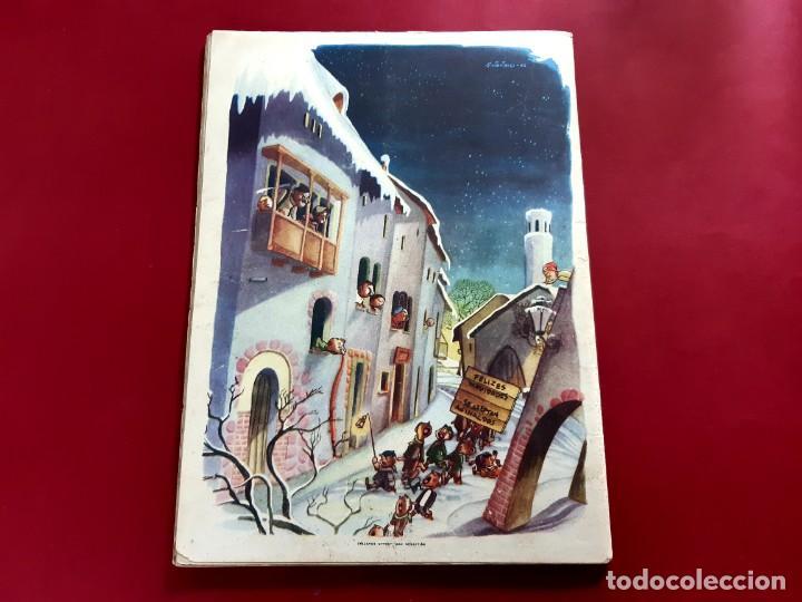 Tebeos: CHICOS ALMANAQUE PARA 1947 EDITA CONSUELO GIL - Foto 3 - 218505261
