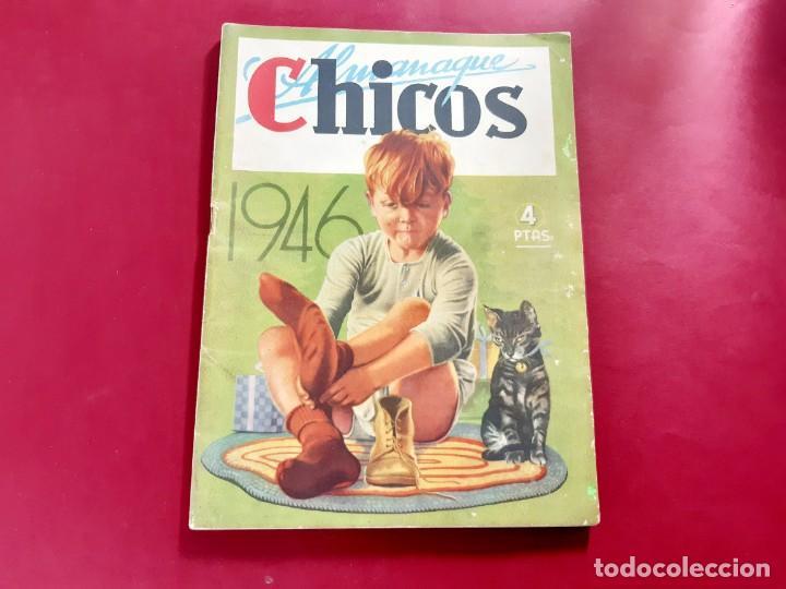 CHICOS ALMANAQUE PARA 1946 EDITA CONSUELO GIL (Tebeos y Comics - Tebeos Almanaques)
