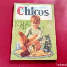 Tebeos: CHICOS ALMANAQUE PARA 1946 EDITA CONSUELO GIL. Lote 218505912
