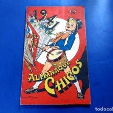 Tebeos: CHICOS ALMANAQUE PARA 1941 EDITA CONSUELO GIL. Lote 218506642