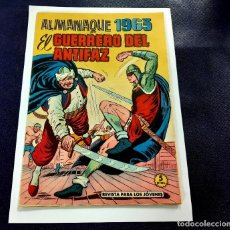 Tebeos: EL GUERRERO DEL ANTIFAZ - ALMANAQUE 1963 -ORIGINAL-IMPECABLE ESTADO. Lote 218899610