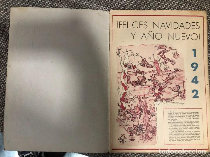 Tebeos: POCHOLO. Almanaque Gigante (38 x 26) para 1942. Tebeo original. MBE. Difícil - Foto 3 - 219425063