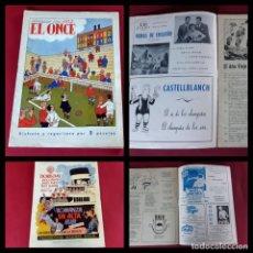 BDs: EL ONCE, ALMANAQUE PARA 1952 ILUSTRACIONES DE CASTANYS -EXCELENTE ESTADO. Lote 219515952