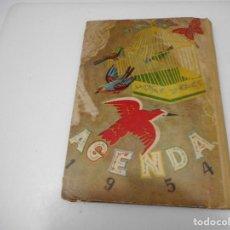 Tebeos: ALMANAQUE-AGENTE AÑO 1954 SECCIÓN FEMENINA DE F.E.T Y DE LA J.O.N.S Q3024T. Lote 219522583