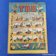 Livros de Banda Desenhada: TBO ALMANAQUE 1950 - EL MILAGRO DEL PAVO - EDITORIAL BUIGAS. Lote 219855125