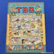 Giornalini: TBO ALMANAQUE 1954 - UN HOMBRE PRÁCTICO - EDITORIAL BUIGAS. Lote 219856970