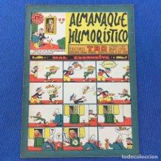 Livros de Banda Desenhada: ALMANAQUE HUMORÍSTICO - EDICIONES TBO - REVISTA PARA TODOS - 1960. Lote 219864856