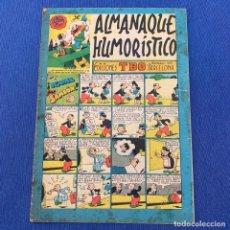 Giornalini: ALMANAQUE HUMORÍSTICO - EDICIONES TBO - 1950. Lote 219865163