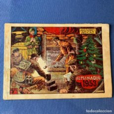 Livros de Banda Desenhada: ALMANAQUE HAZAÑAS BÉLICAS - AÑO 1953. Lote 219866753