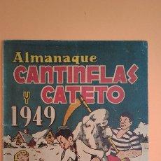 Livros de Banda Desenhada: ALMANAQUE 1949 , CANTINFLAS Y CATETO , EDICIONES LERSO. Lote 220236017