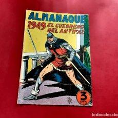 Tebeos: ALMANAQUE DEL GUERRERO DEL ANTIFAZ DEL AÑO 1949-REFC1. Lote 220865220