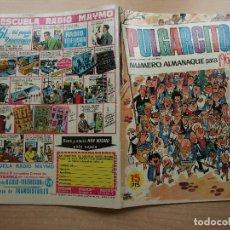 Livros de Banda Desenhada: PULGARCITO - NUMERO ALMANAQUE PARA 1967 - ORIGINAL - BRUGUERA - BUEN ESTADO. Lote 221235197