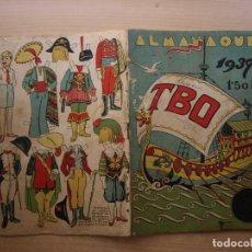 Tebeos: TBO - ALANAQUE 1937 - ORIGINAL - VER FOTOS DE TODAS LAS PAGINAS - NORMAL ESTADO. Lote 221538616