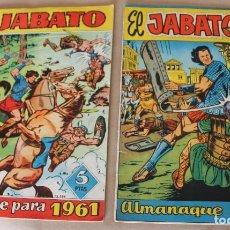 Tebeos: EL JABATO - ALMANAQUE 1960 1961 ORIGINAL - BRUGUERA - MUY BUEN ESTADO - TAMBIÉN SUELTOS. Lote 221561307