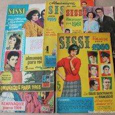 Tebeos: ALMANAQUE SISSI 1959 1960 1961 1962 1963 1964 ORIGINAL - TAMBIÉN SUELTOS. Lote 221882852