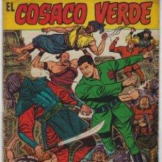Tebeos: EL COSACO VERDE: EL TIGRE DE RANDANG - ALMANAQUE 1961 *** BRUGUERA ***. Lote 222007353