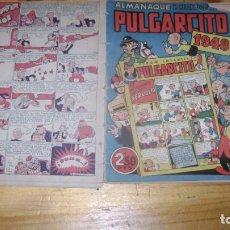 Tebeos: ALMANAQUE PULGARCITO PARA 1948 ORIGINAL CJ 5. Lote 222710367