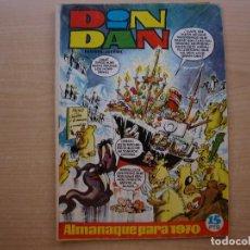Tebeos: DIN DAN - ALMANAQUE PARA 1970 - BRUGUERA - BUEN ESTADO - LOS PASATIEMPOS ESTAN SIN HACER. Lote 223900121