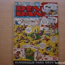 Tebeos: DIN DAN - ALMANAQUE PARA 1971 - BRUGUERA - BUEN ESTADO - LOS PASATIEMPOS ESTAN SIN HACER. Lote 223900373