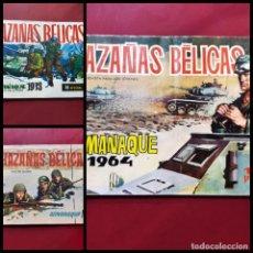 Tebeos: ALMANAQUES HAZAÑAS BELICAS -AÑOS 1961-1964-1973 -ORIGINALES. Lote 223962867