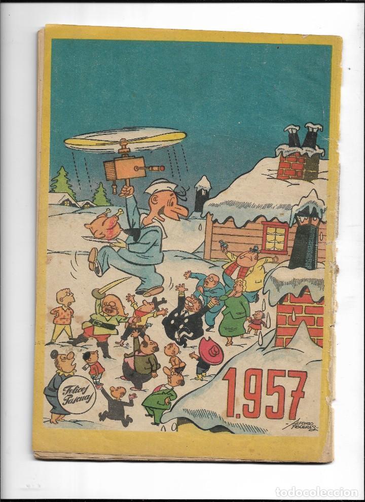 Tebeos: Paseo Infantil, Almanaque para 1957 es Original dibujante Gustavo Schmidt Editorial Gestón - Foto 2 - 224018203