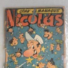 BDs: GRAN ALMANAQUE NICOLAS 1950. 3 PTAS, 36 PAGINAS. Lote 224032170