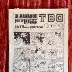 Tebeos: ALMANAQUE TBO 1933-BUIGAS-SIN CUBIERTAS-INTERIOR BASTANTE BUEN ESTADO-VER FOTOGRAFÍAS TODAS LAS PAG.. Lote 224187273