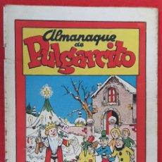 Tebeos: ALMANAQUE PULGARCITO 1945 BRUGUERA ORIGINAL CT2. Lote 224471826