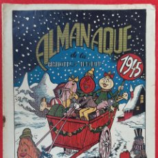 Tebeos: ALMANAQUE DE LA BIBLIOTECA INFANTIL 1945 EDITORIAL MARCO RECORTABLE ORIGINAL CT2. Lote 224472255