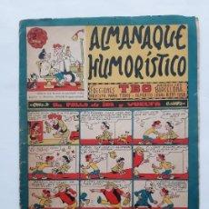 Tebeos: ALMANAQUE HUMORISTICO TBO PARA 1963. Lote 224609698