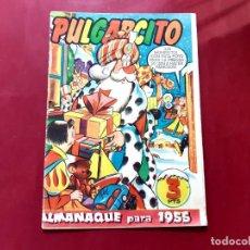 Tebeos: PULGARCITO - ALMANAQUE 1955 - BRUGUERA - EXCELENTE ESTADO-LEER DESCRIPCION-. Lote 224620657