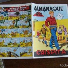 BDs: ALMANAQUE CHISPITA 1952 EN FACSÍMIL. Lote 224635516