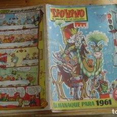 Livros de Banda Desenhada: TIOVIVO TIO VIVO ALMANAQUE PARA 1961 CJ 5. Lote 226382285