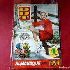 BDs: DDT. ALMANAQUE 1959 -EXCELENTE ESTADO. Lote 227241865