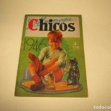 Tebeos: ANTIGUO ALMANAQUE CHICOS DEL AÑO 1946. Lote 227972115