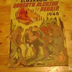 Tebeos: ROBERTO ALCAZAR Y PEDRIN ORIGINAL ALMANAQUE PARA 1948 LEER DESCRIPCION ALMANAQUESROBERTO. Lote 228334540