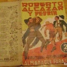 BDs: ROBERTO ALCAZAR Y PEDRIN ORIGINAL ALMANAQUE PARA 1945 LEER DESCRIPCION ALMANAQUESROBERTO. Lote 228335585