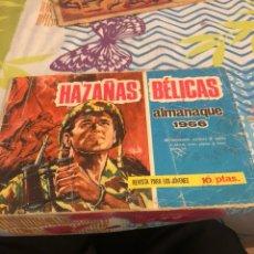 Tebeos: HAZAÑAS BÉLICAS ALMANAQUE 1966. Lote 228796570