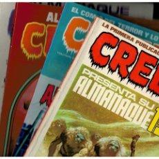 Livros de Banda Desenhada: ALMANAQUES CREEPY. 1980-1981-1982-1983-1984 Y 1985. COMPLETA. TOUTAIN.MUY BUENOS.LEER. Lote 231056065