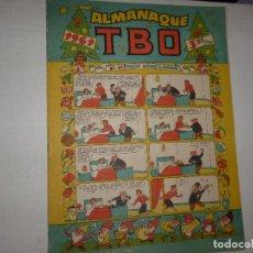 Tebeos: ALMANAQUE TBO 1961 - CONTIENE RECORTABLE CONTRAPORTADA -. Lote 235173980