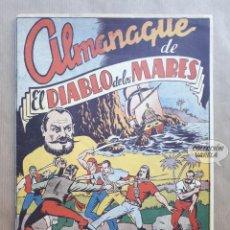 Tebeos: ALMANAQUE DE EL DIABLO DE LOS MARES 1949 - REEDICIÓN. Lote 235783155
